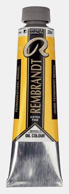 ROC PERM YELLOW MED 284 3 (Rembrant Oil Colour)