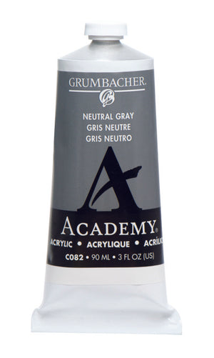 AA NEUTRAL GRAY C082 (Grumbacher Acrylic)
