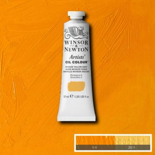 AOC Winsor Yellow Deep (Winsor & Newton Artist Oil)