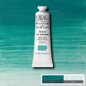 WN AOC 37ml tube - Cobalt Green (Winsor & Newton)
