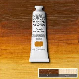 WN AOC 37ml tube - Transparent Gold Ochre