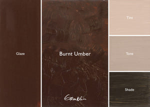 GB Burnt Umber AG (Gamblin Artist Oil)