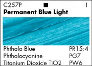AA PERMANENT BLUE LIGHT C257 (Grumbacher Acrylic)