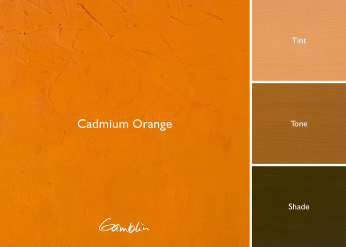 GB Cadmium Orange AG (Gamblin Artist Oil)