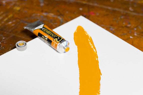 ROC YELLOW OCHRE 227 1 (Rembrant Oil Colour)