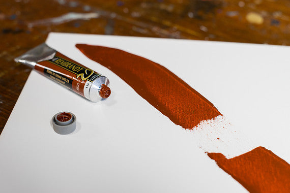 ROC BURNT SIENNA 411 1 (Rembrant Oil Colour)