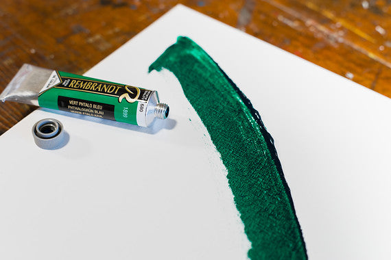ROC PHTHALO GREEN BLU 680 3 (Rembrant Oil Colour)