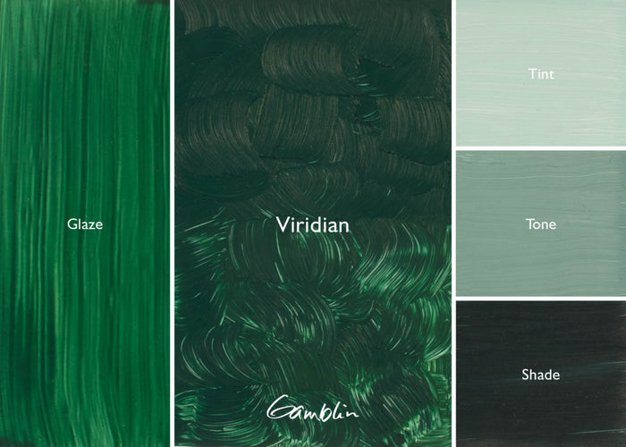 GB 1980 Viridian  (Gamblin Oil)