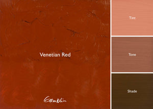 GB 1980 Venetian Red  (Gamblin Oil)