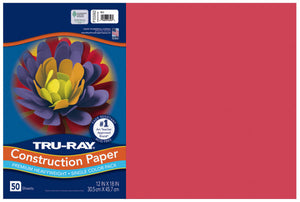 TRU-RAY RED (Pacon Construction Paper)