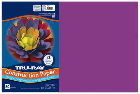 TRU-RAY MAGENTA (Pacon Construction Paper)