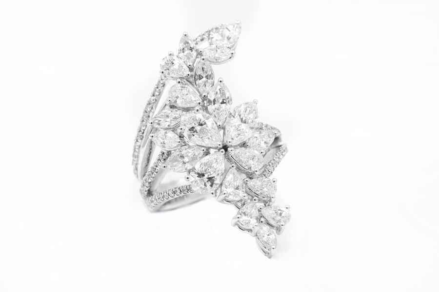 Fancy Brilliant Cut Diamond Ring