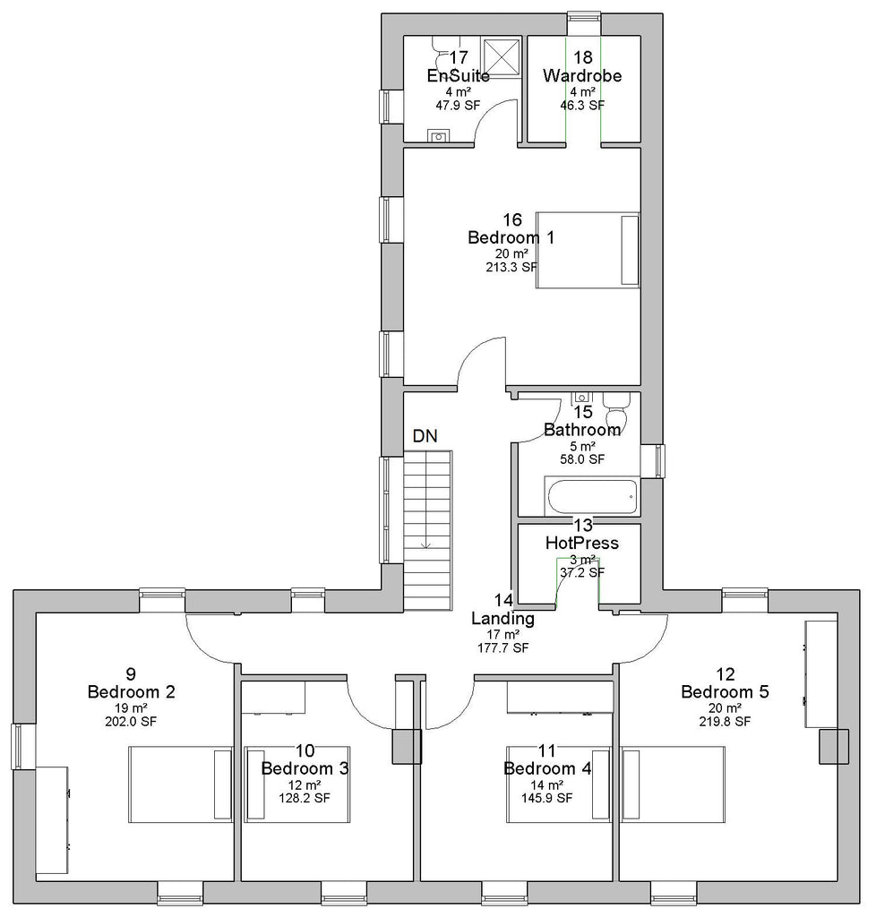 House plans | Architect designed Irish house plans – floorplan.ie