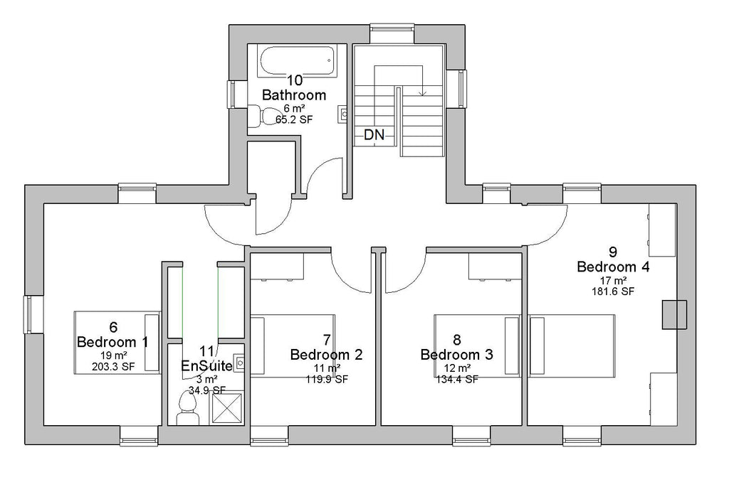 House floor plan database house plans for Irish cottage house plans with photos