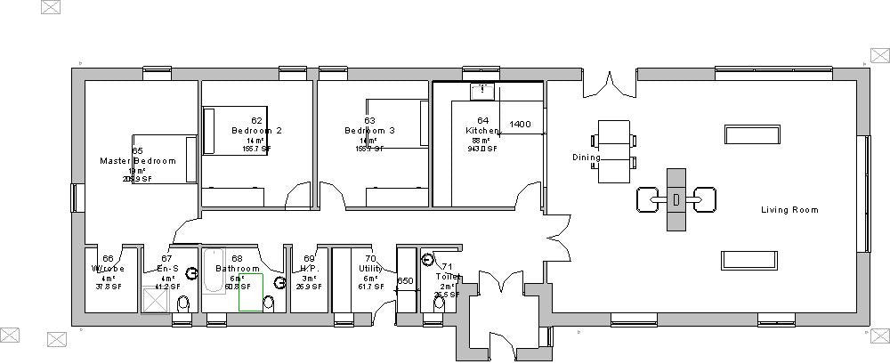 House plans Maigue architect designed Irish houses floorplanie