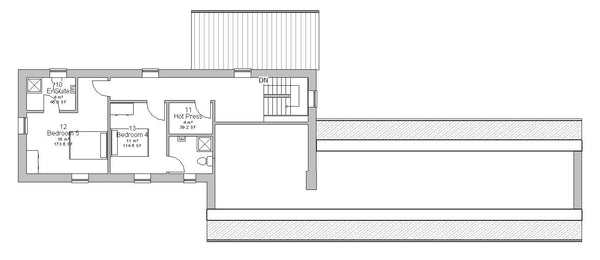 Vartry House plans first floor
