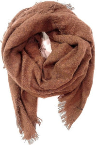 Sienna Soft Textured Blanket Scarf