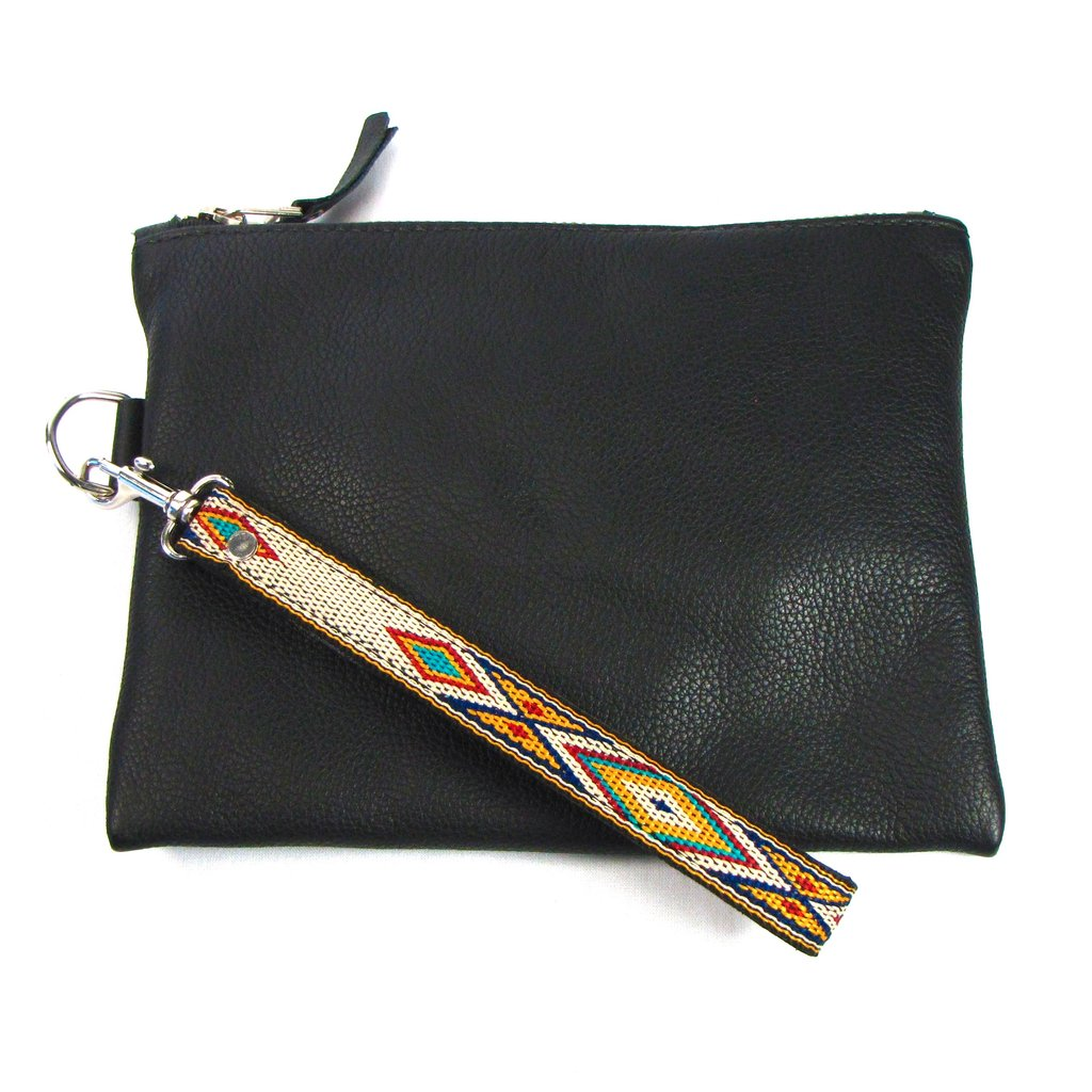 Southwestern Strapped Clutch