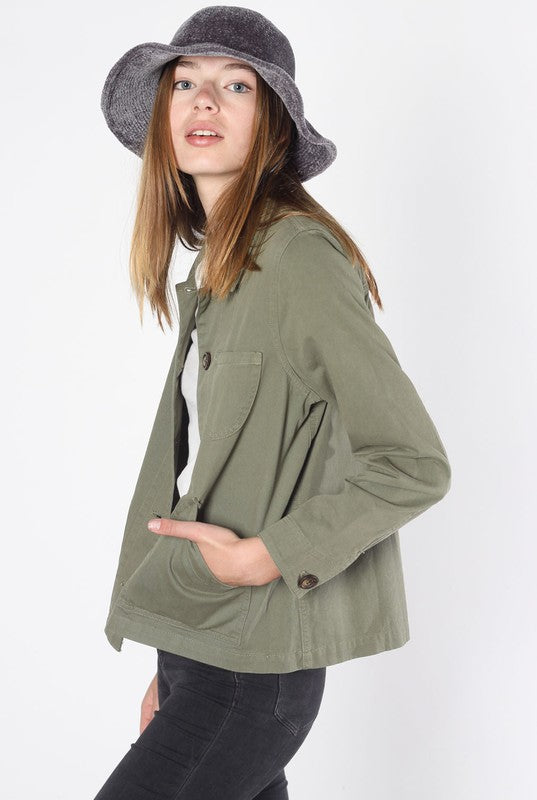 The Chase Jacket in Olive