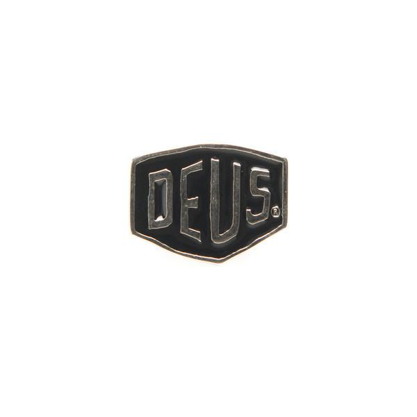 Black Shield Deus Pin