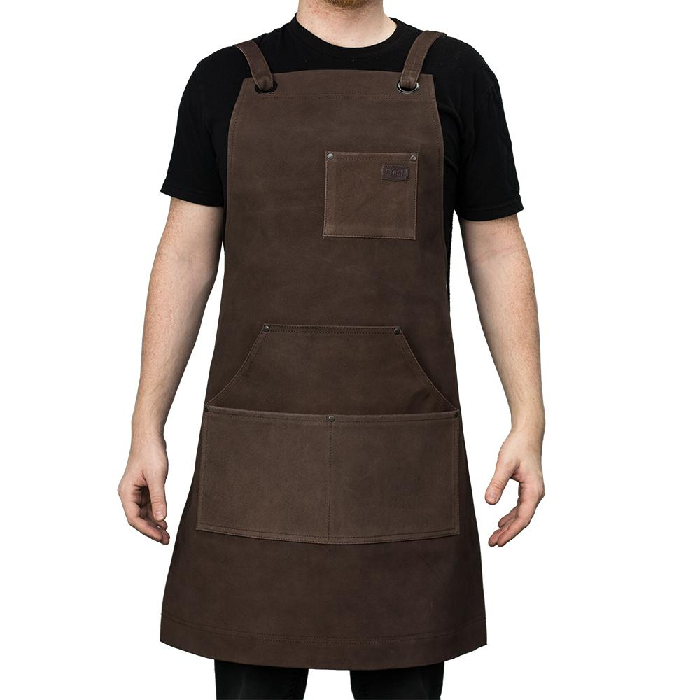 Suede Machinist Apron Brown