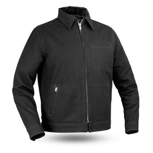 Men's Black Canvas Hanover Jacket