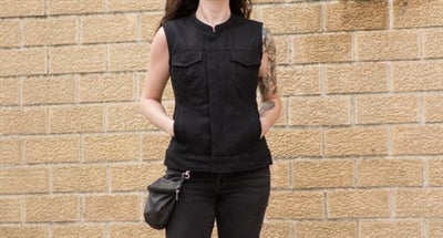 Black Canvas Women's Ludlow Vest