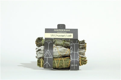 Cedar, Mudwort and Sage Stick Bundle