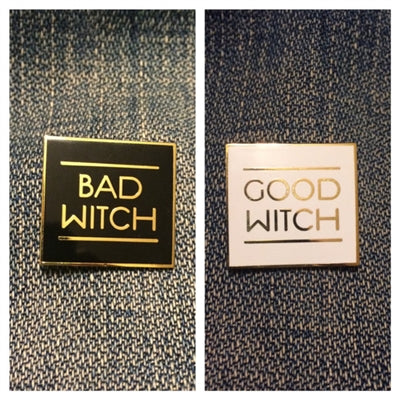 Good Witch / Bad Witch Pin