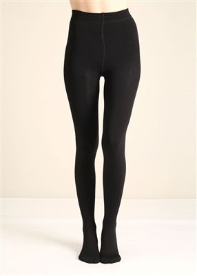 Black Fleece Lined Tights