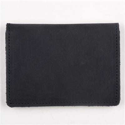 Black Leather Slim Card Case