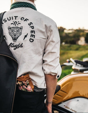 The Pursuit Of Speed Jacket White