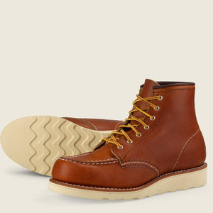 Women's Oro Leather 6 Inch Moc