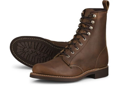 Copper Brown Silversmith Boot
