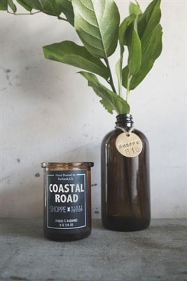 Coastal Road Amber Candle