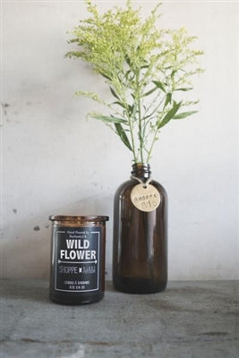 Wildflower Amber Candle