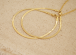 Thin Gold Layering Snake Chain Bracelet