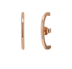 Chic Suspender Earrings Rose Gold