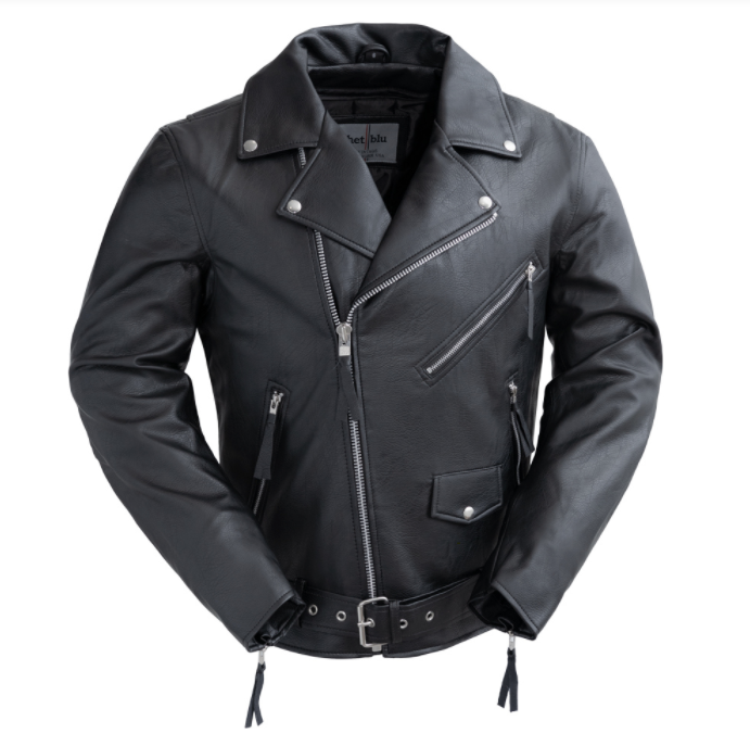 Broc Vegan Leather Men's Jacket