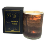 No 16 Vintage Amber Candle