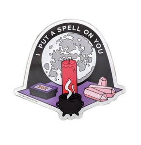 Spell On You Sticker