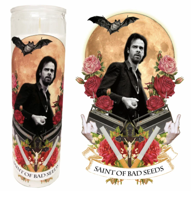 Saint of Bad Seeds Candle