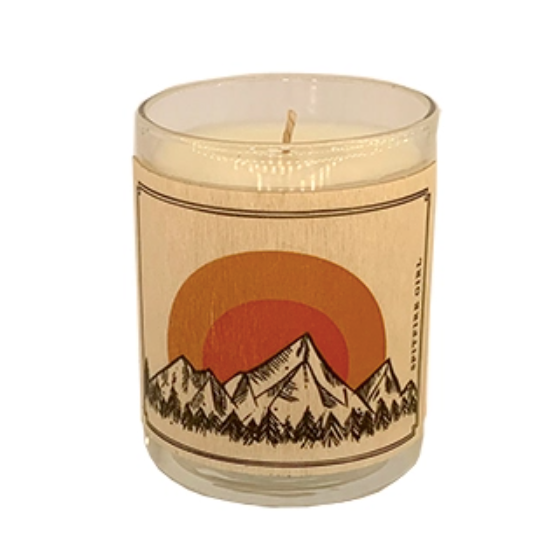 Votive Candle Mountains