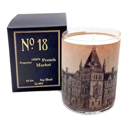 No 18 French Market Candle