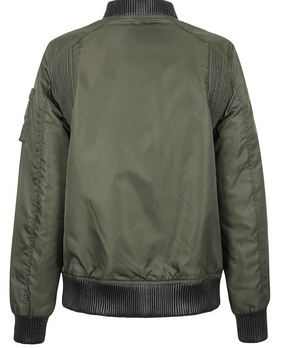 Olive Green Glory Motorcycle Jacket