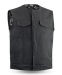 Black Canvas Fairfax Vest