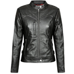 Black Trix Motorcycle Jacket