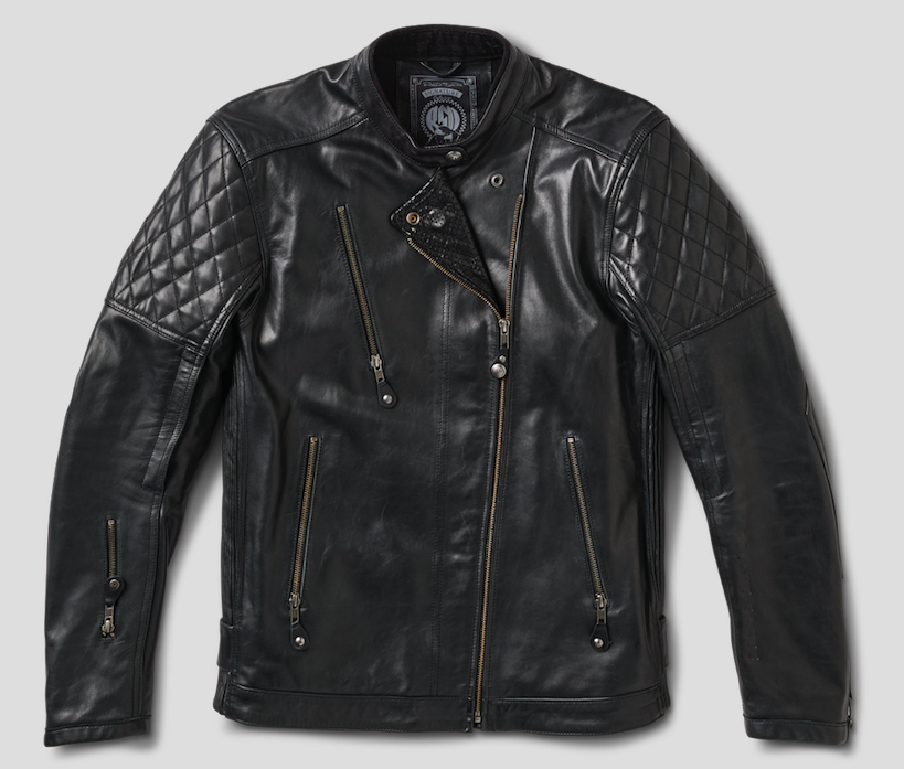 Roland Sands Design Men's Clash RS Signature Leather Jacket