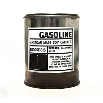 Gasoline Tin Candle