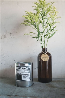 Oak Moss Tin Candle